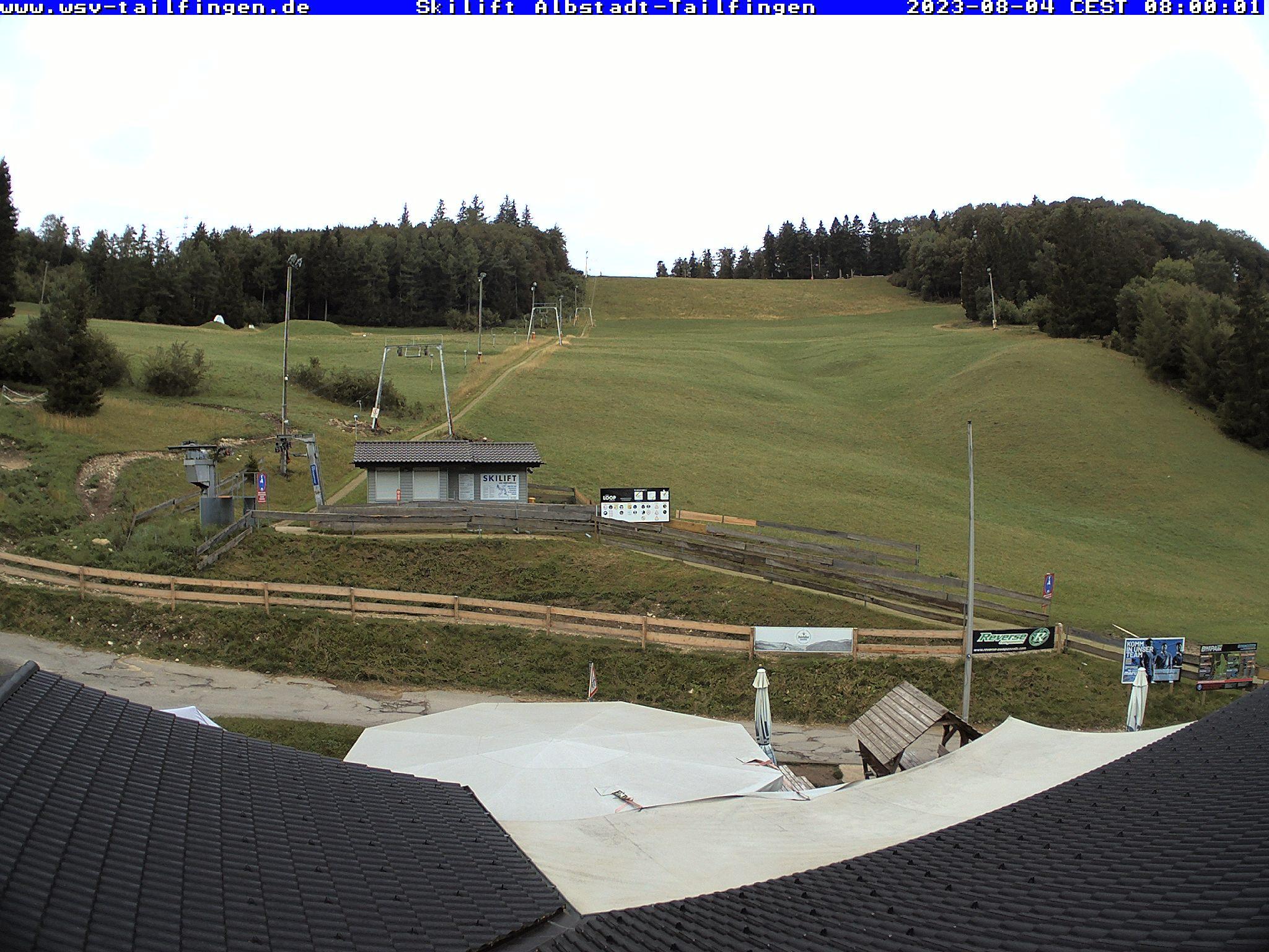 Webcam-Foto 08:00 Uhr / Skilift Albstadt-Tailfingen