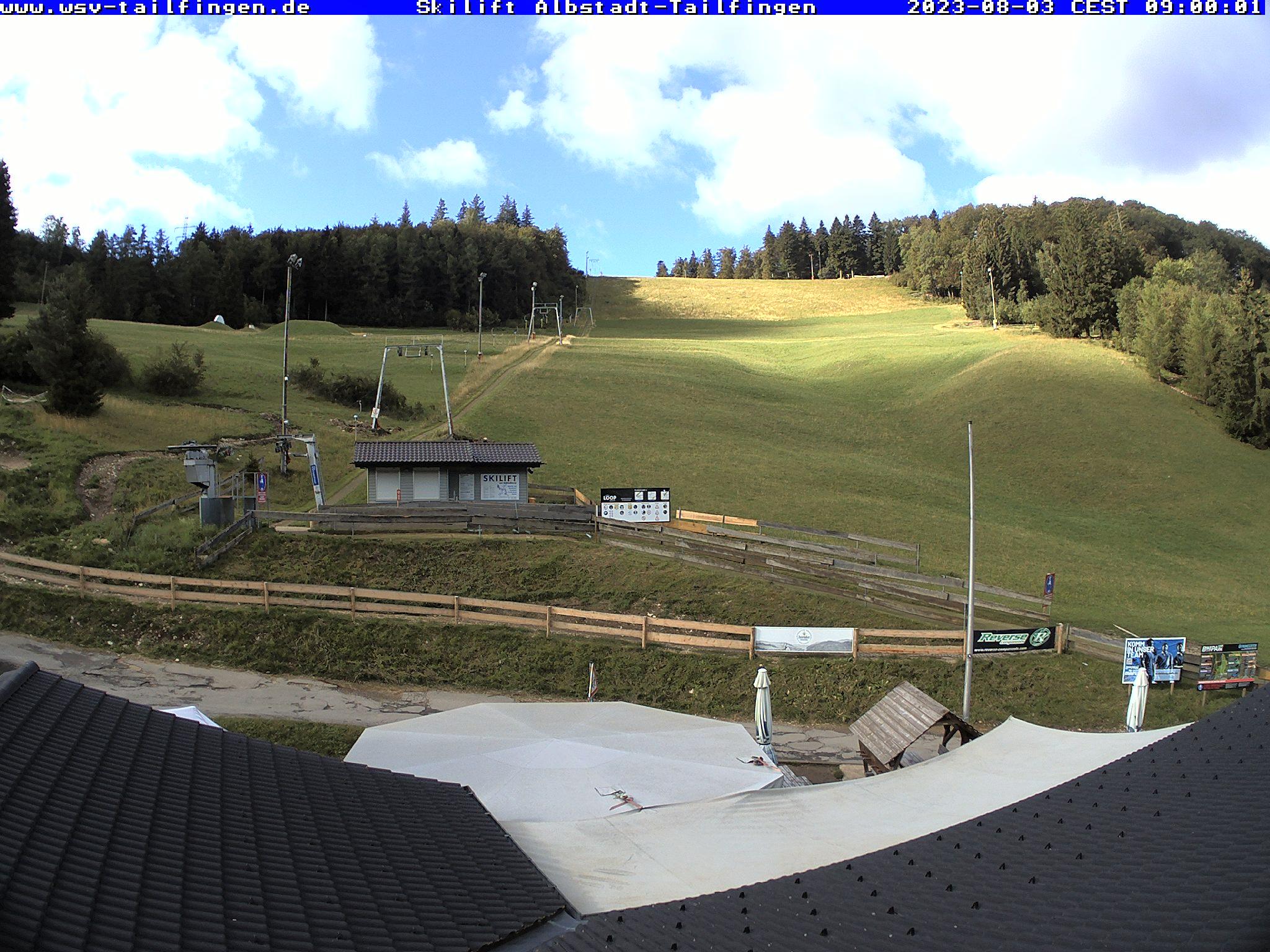 Webcam-Foto 09:00 Uhr / Skilift Albstadt-Tailfingen