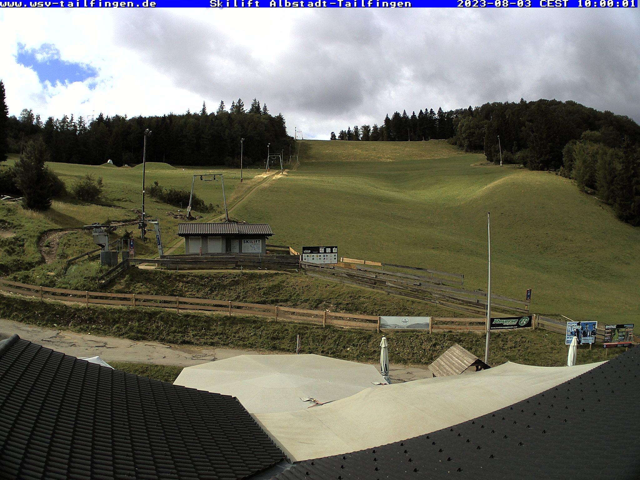Webcam-Foto 10:00 Uhr / Skilift Albstadt-Tailfingen