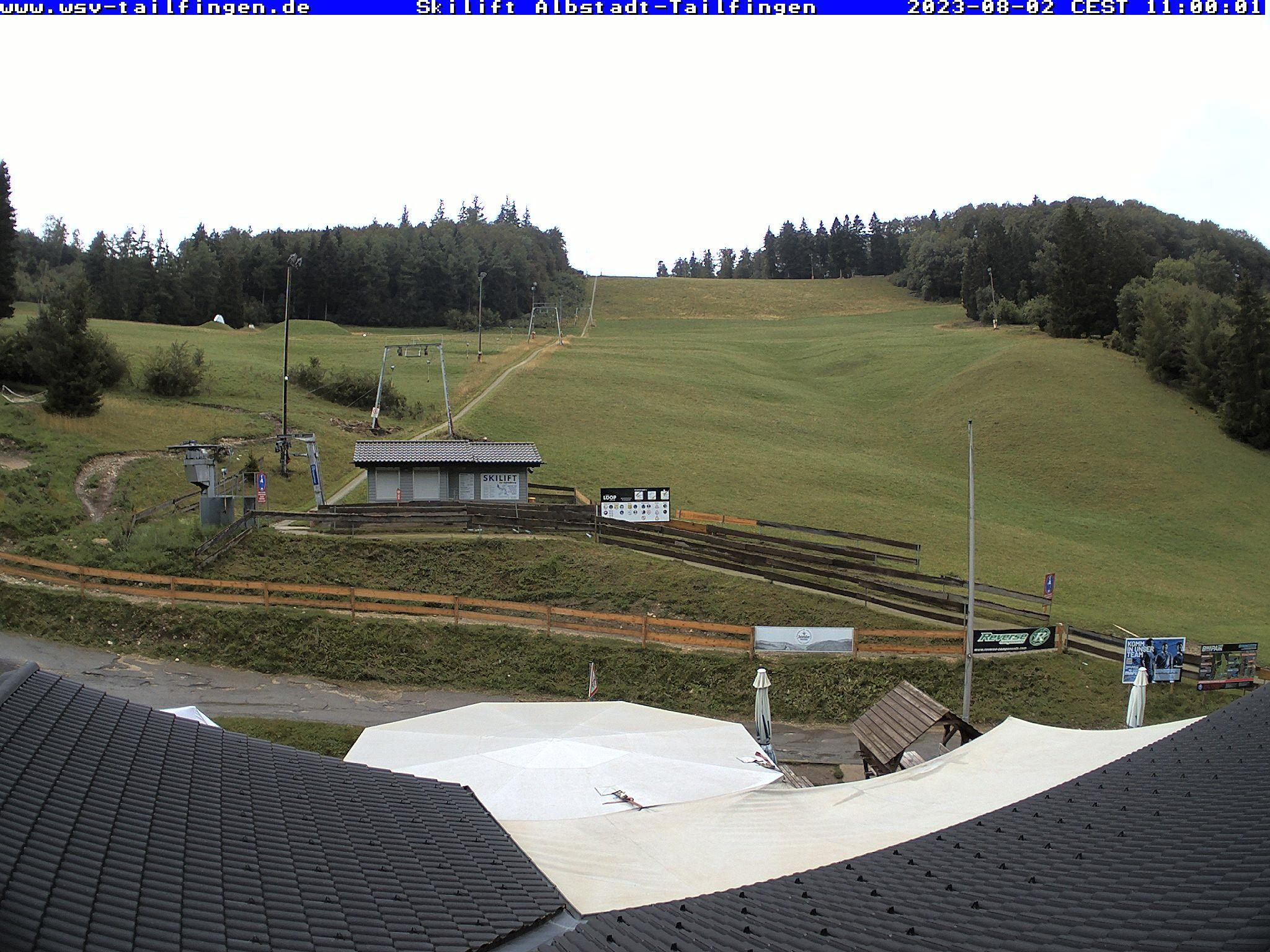 Webcam-Foto 11:00 Uhr / Skilift Albstadt-Tailfingen