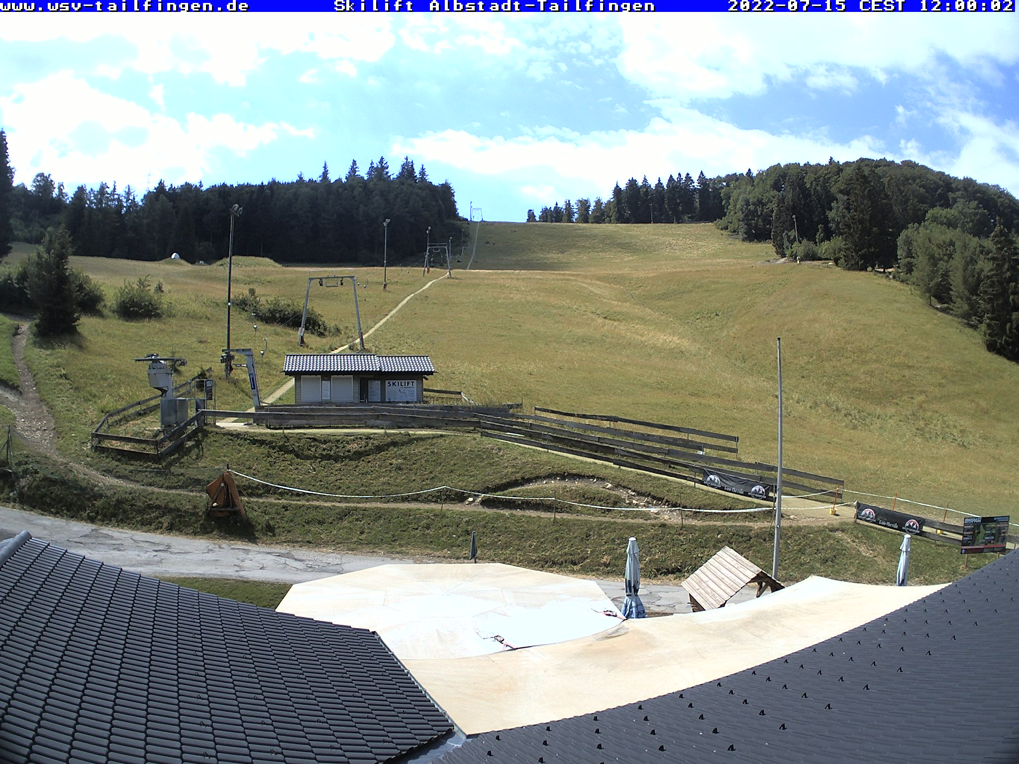 Webcam-Foto 12:00 Uhr / Skilift Albstadt-Tailfingen