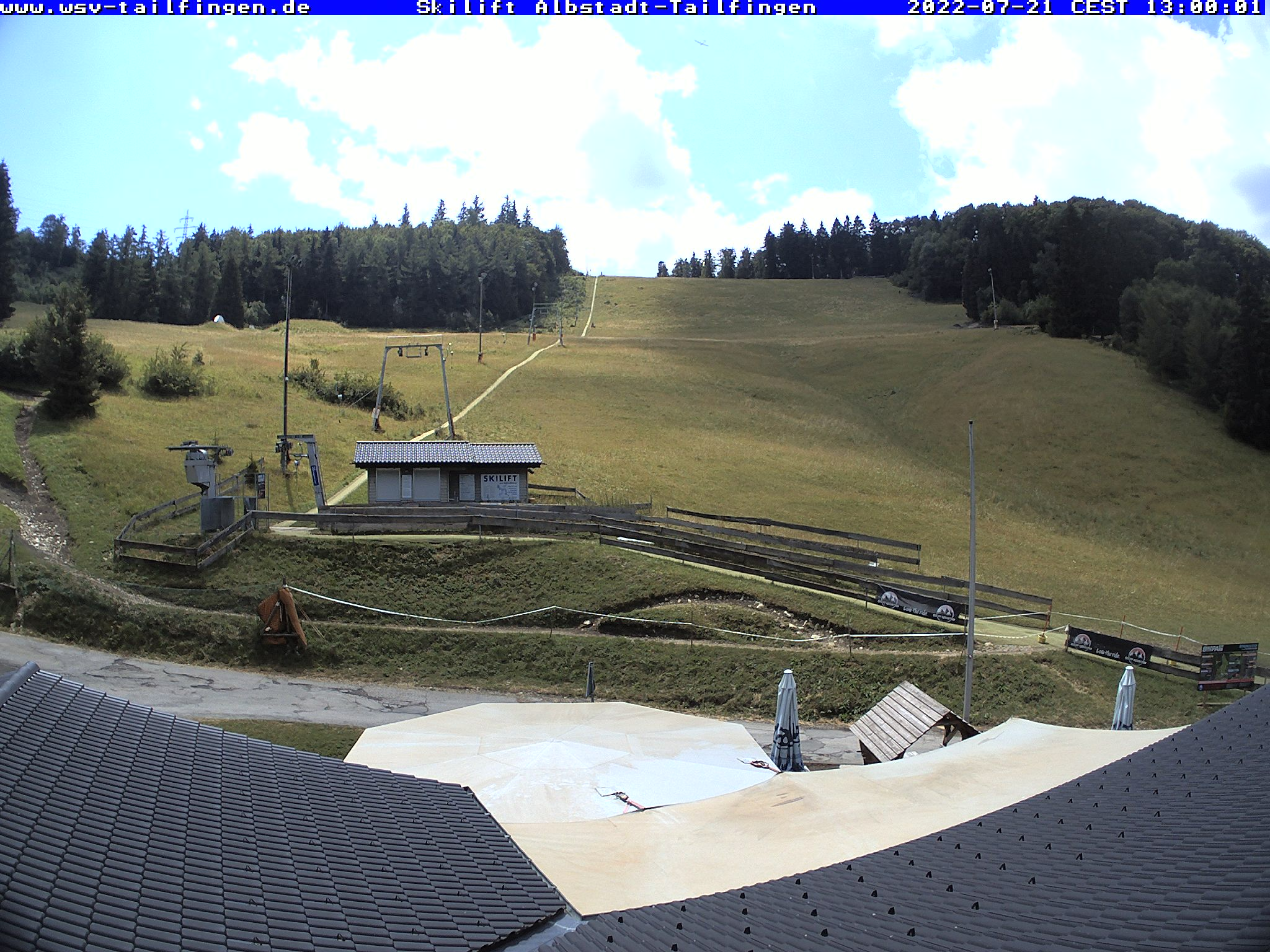 Webcam-Foto 13:00 Uhr / Skilift Albstadt-Tailfingen