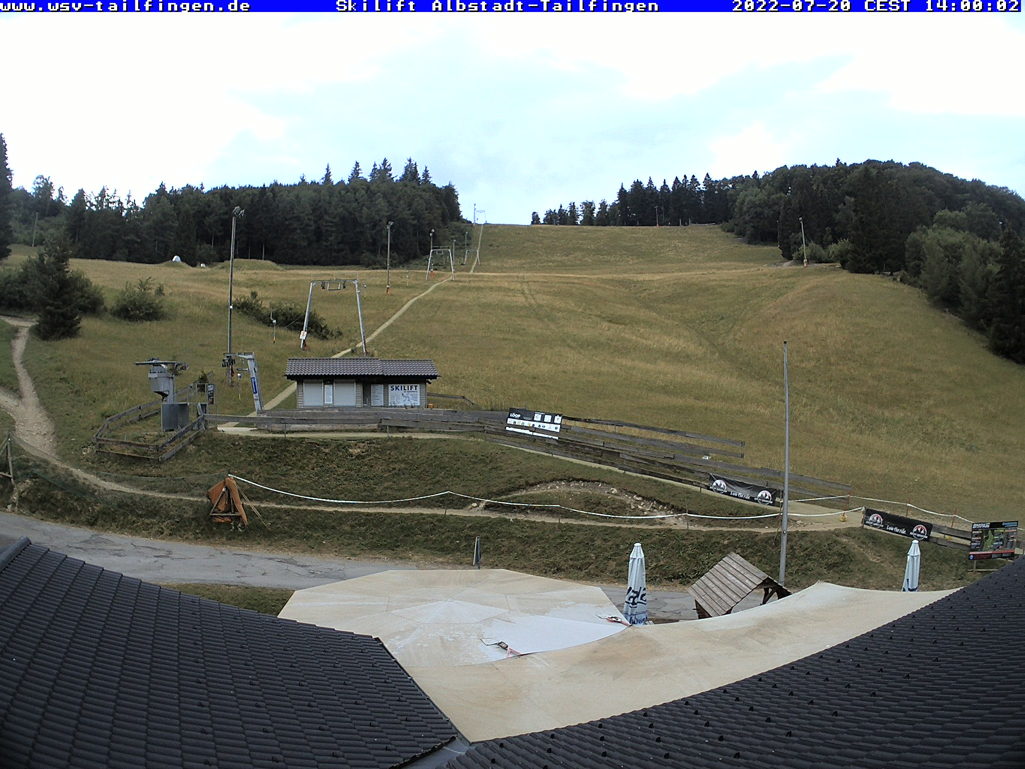Webcam-Foto 14:00 Uhr / Skilift Albstadt-Tailfingen