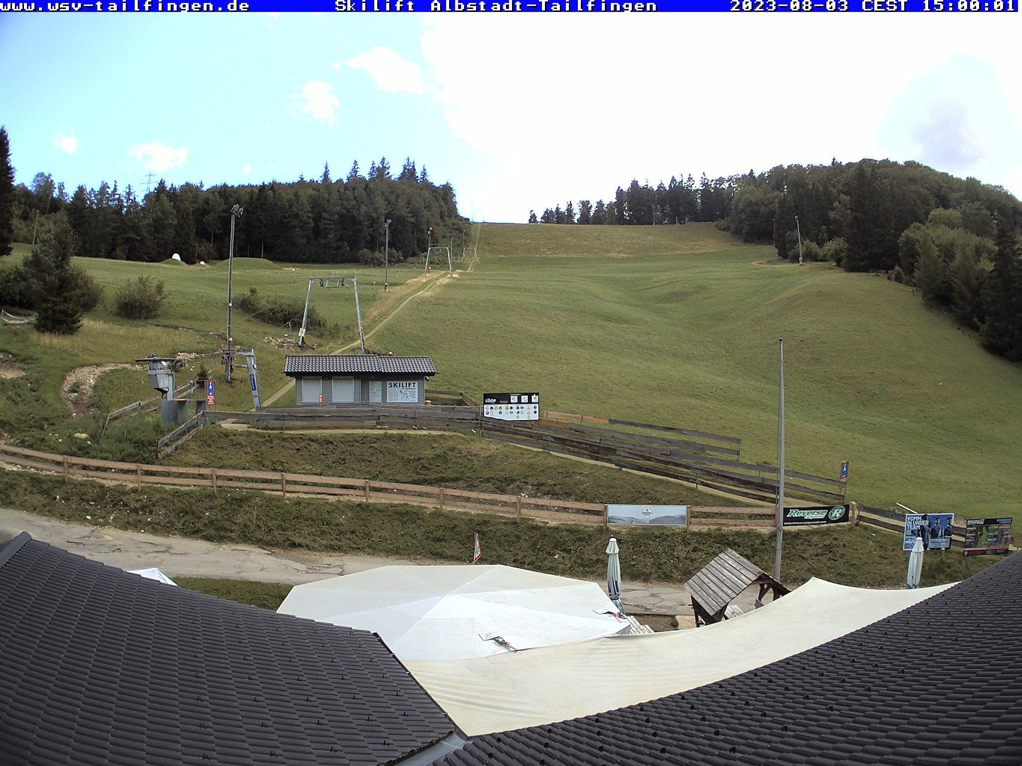 Webcam-Foto 15:00 Uhr / Skilift Albstadt-Tailfingen