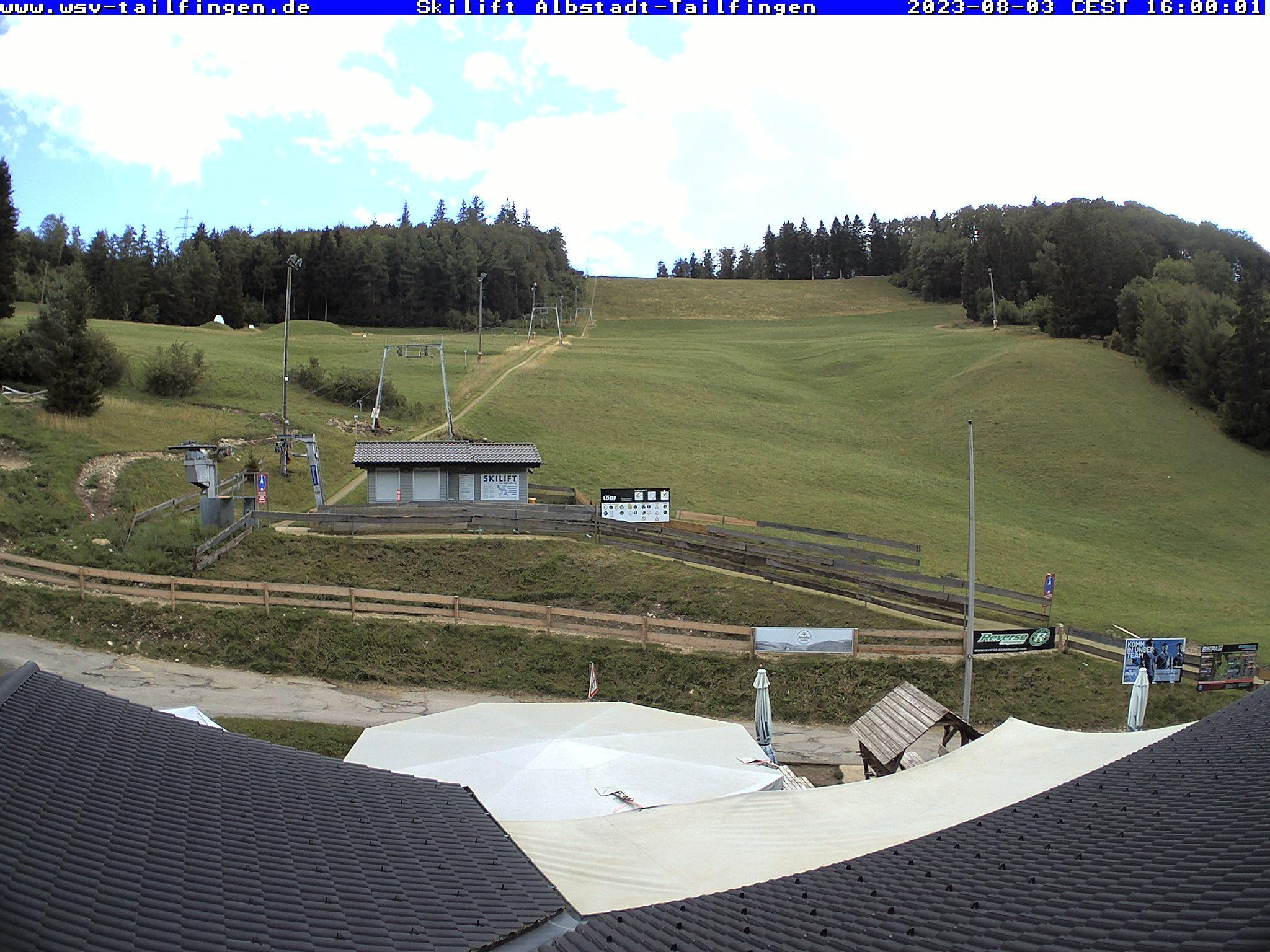 Webcam-Foto 16:00 Uhr / Skilift Albstadt-Tailfingen