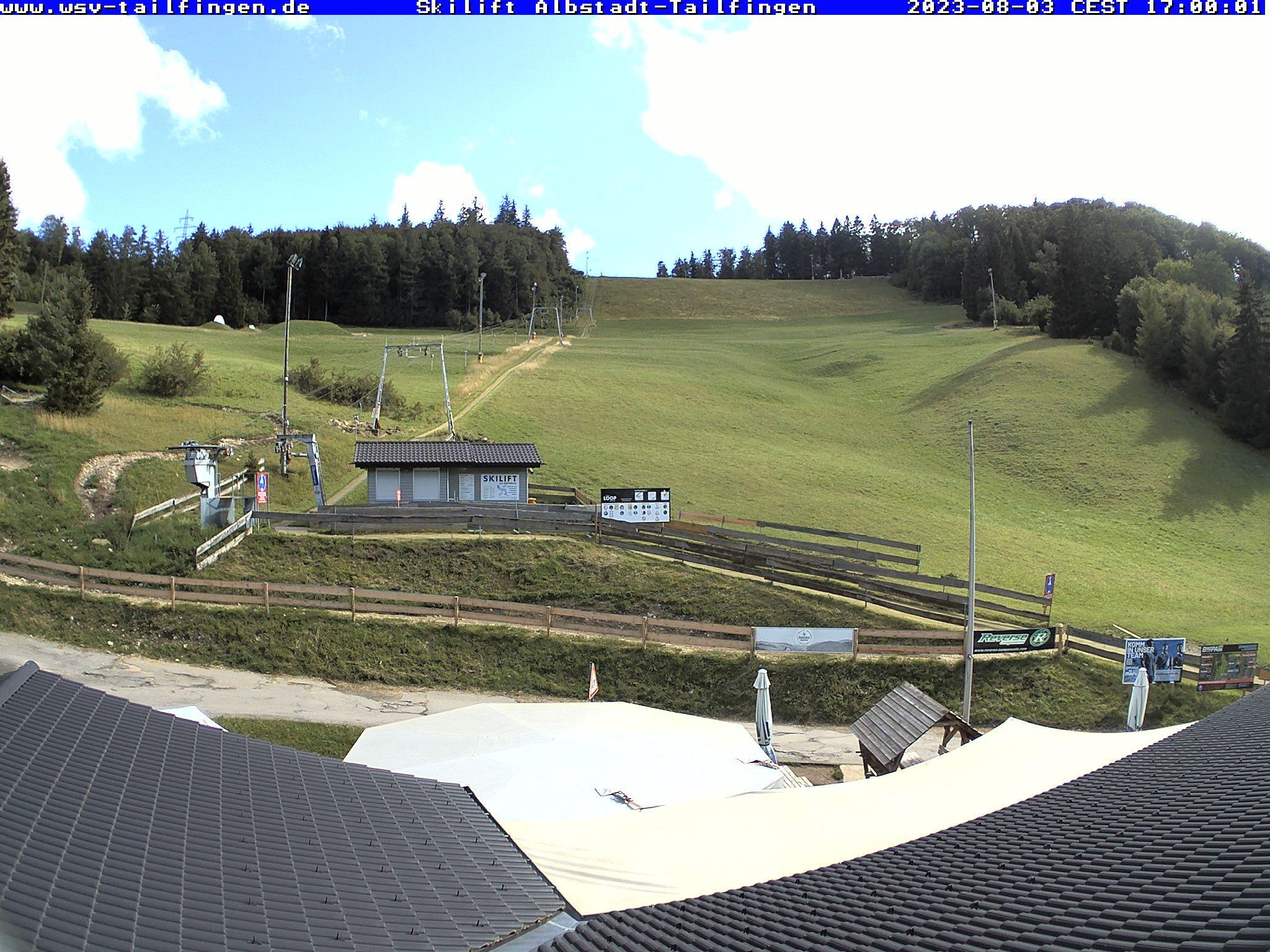 Webcam-Foto 17:00 Uhr / Skilift Albstadt-Tailfingen