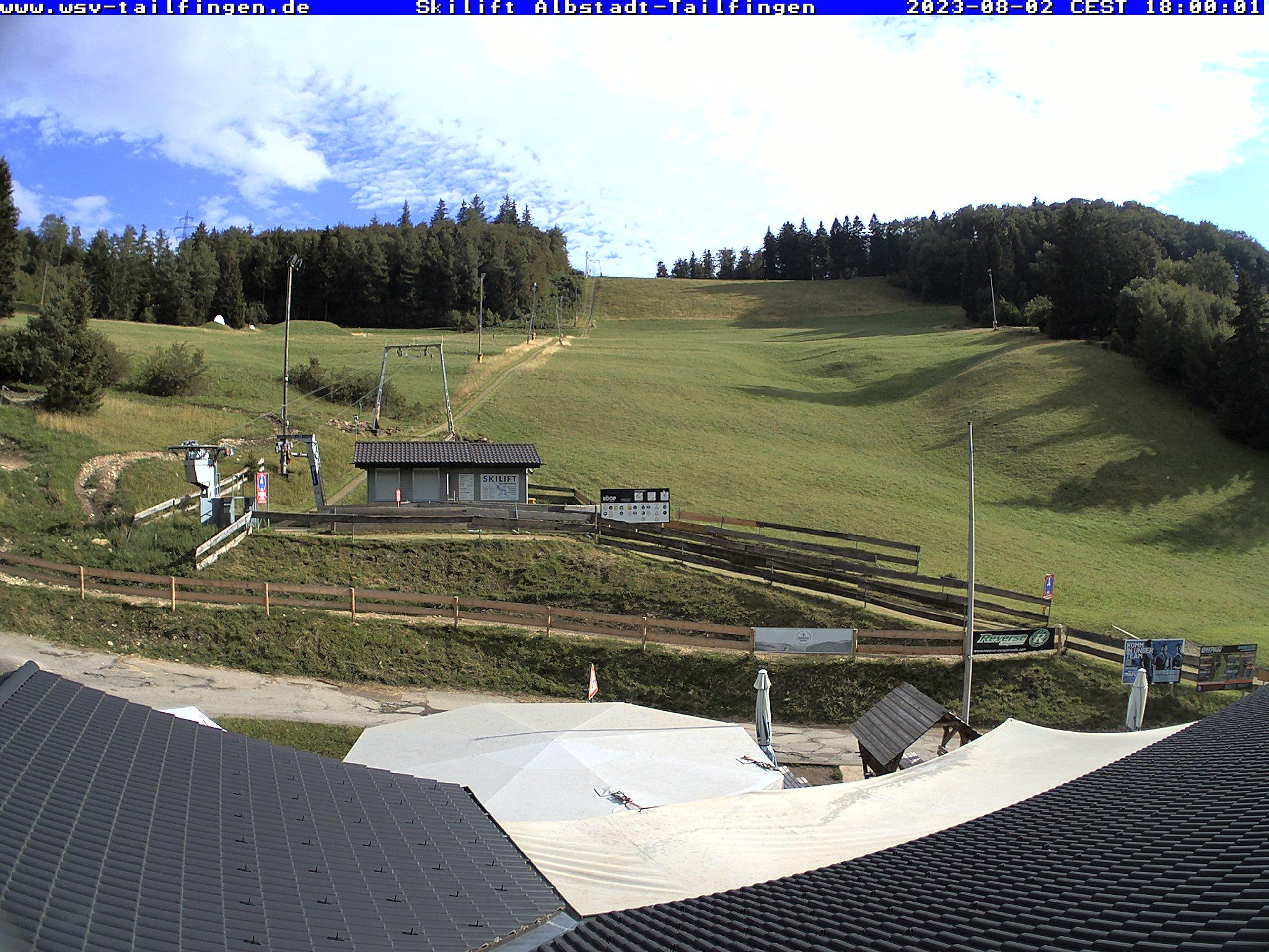 Webcam-Foto 18:00 Uhr / Skilift Albstadt-Tailfingen