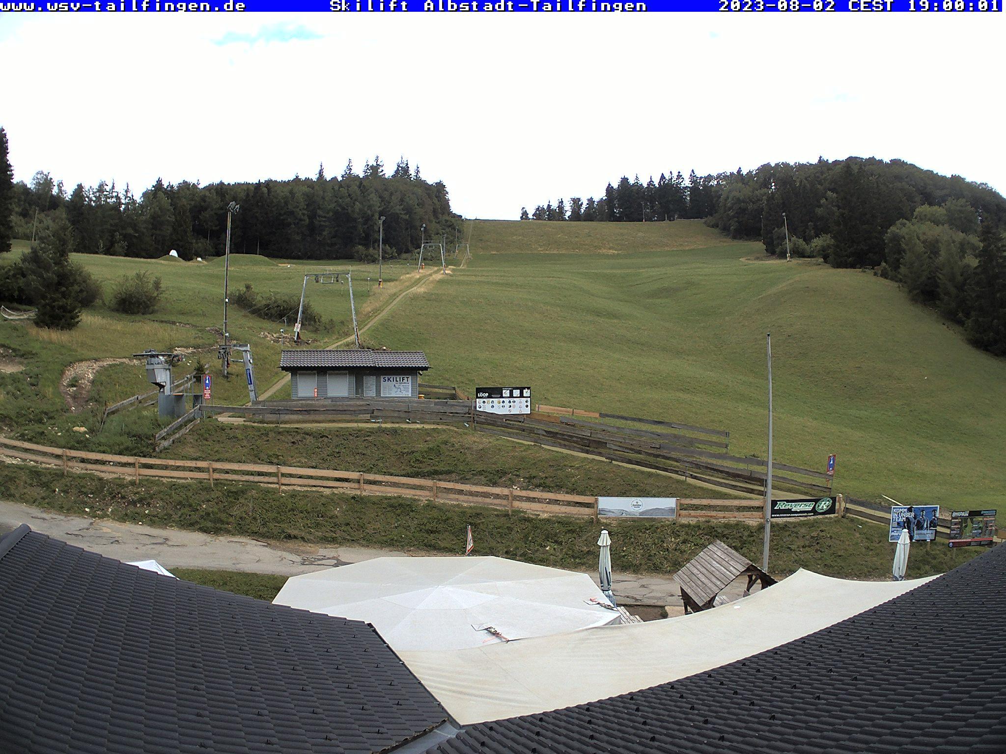 Webcam-Foto 19:00 Uhr / Skilift Albstadt-Tailfingen