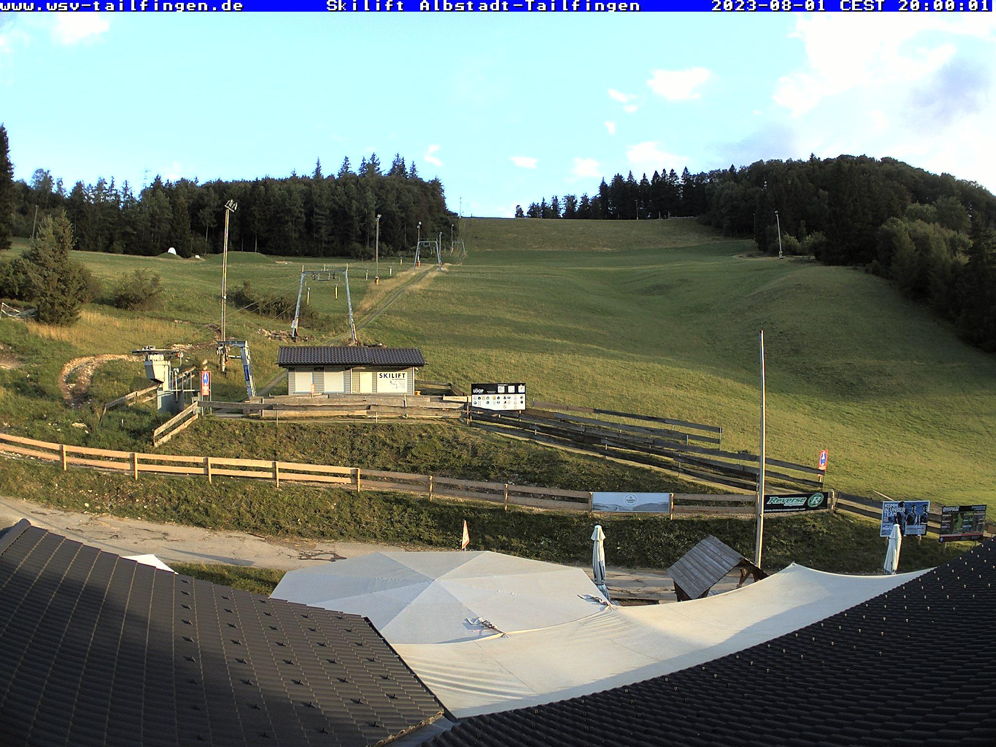 Webcam-Foto 20:00 Uhr / Skilift Albstadt-Tailfingen