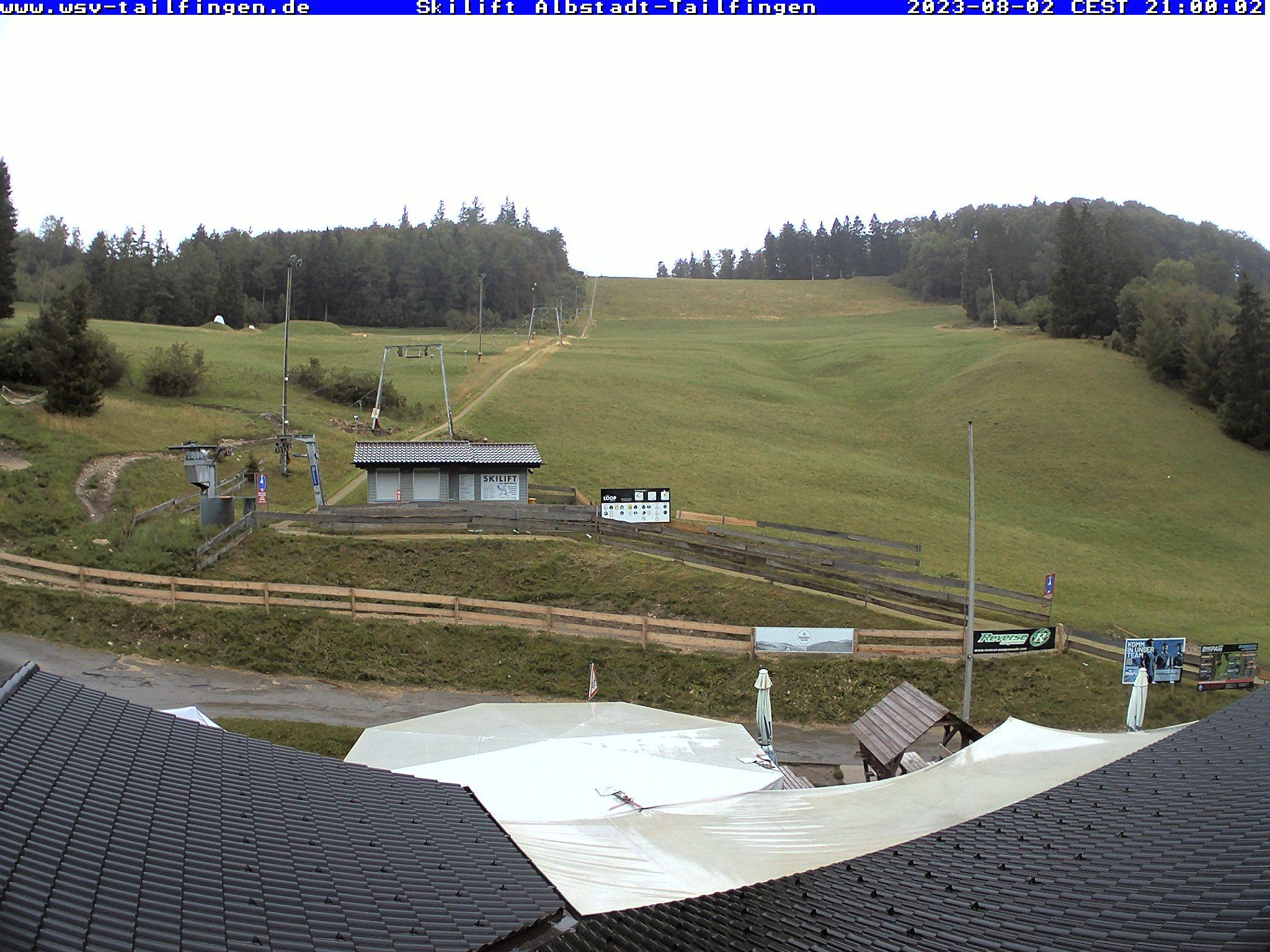 Webcam-Foto 21:00 Uhr / Skilift Albstadt-Tailfingen