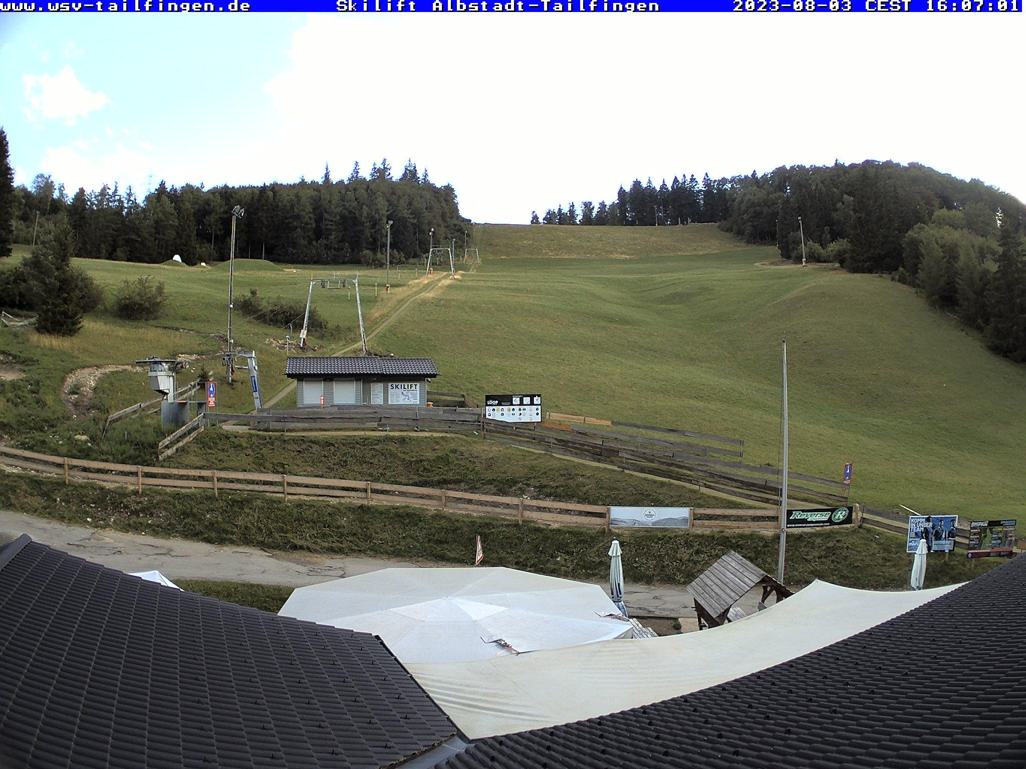 Webcam Ski Resort Albstadt - Tailfingen Swabian Jura