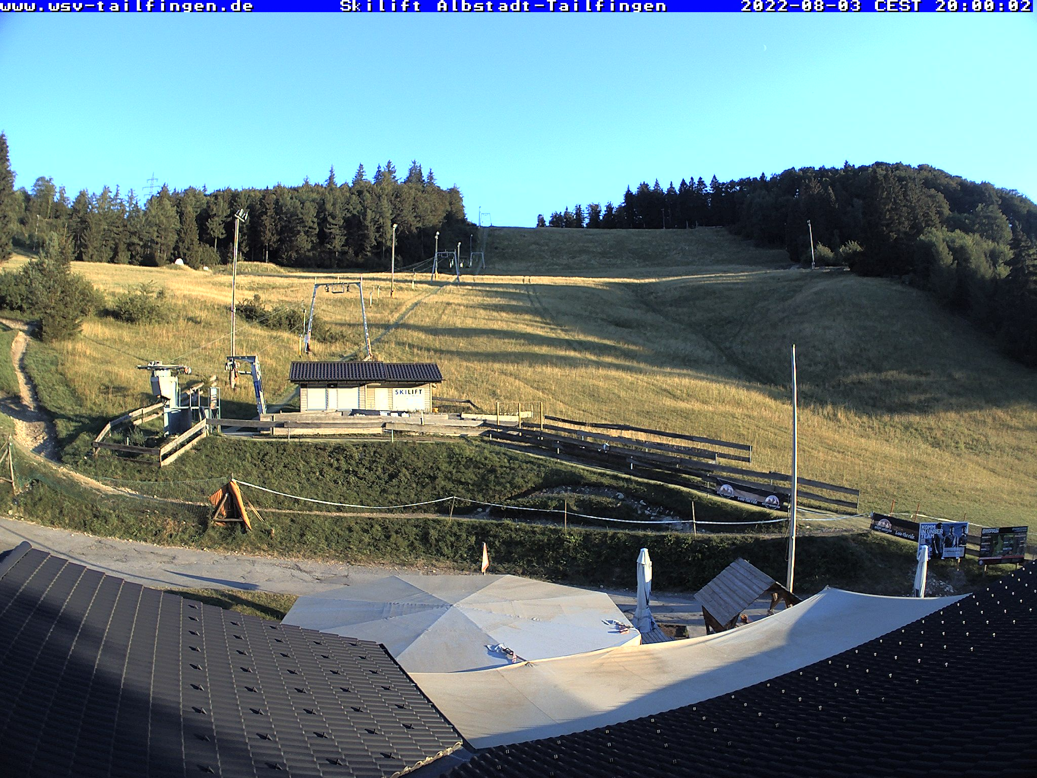 Webcam Ski Resort Albstadt - Tailfingen Swabian Jura
